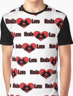 Koala Love #2 Pattern  Graphic T-Shirt