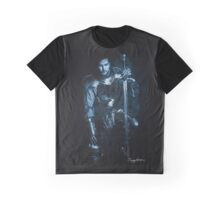 'Blue Knight' Graphic T-Shirt