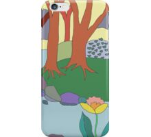 Forest Circle at Dusk iPhone Case/Skin
