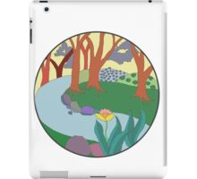 Forest Circle at Dusk iPad Case/Skin