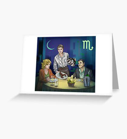 Scorpion people Greeting Card