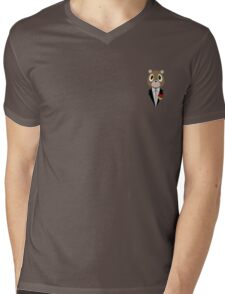 Kanye West DropOut Bear Mens V-Neck T-Shirt