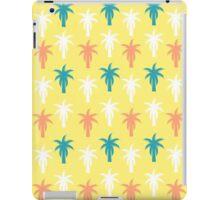 Palm trees in yellow iPad Case/Skin