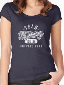 Team Hillary For President 2016 - Campaign T shirt Women's Fitted Scoop T-Shirt