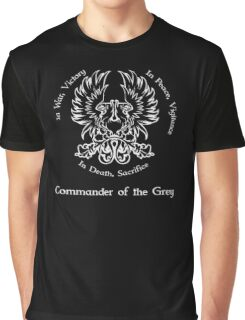 Commander of the Grey (light) Graphic T-Shirt