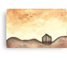 Sunset Shed Canvas Print