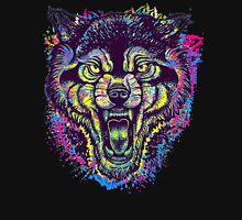 Neotraditional Full Color Wolf Unisex T-Shirt