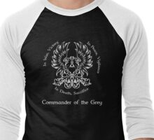 Commander of the Grey (light) Men's Baseball ¾ T-Shirt