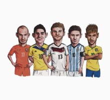 World Cup Stars Kids Clothes