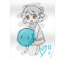 Clannad: Ushio With Dango Poster
