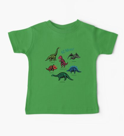 Fossil dinosaurs Baby Tee