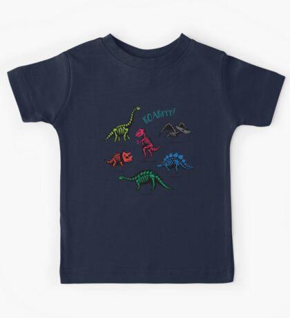 Fossil dinosaurs Kids Tee