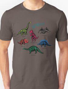 Fossil dinosaurs Unisex T-Shirt