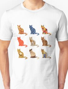 Food Cats Unisex T-Shirt