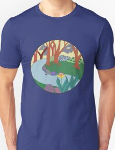 Forest Circle at Dusk T-Shirt
