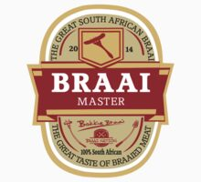Braai Master - South African thing Kids Clothes