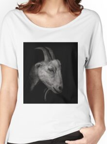Portrait of a Goat Women's Relaxed Fit T-Shirt