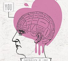 Phrenology of Love by Paolavk