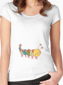 Friendly Caterpillar :) Women's Fitted Scoop T-Shirt