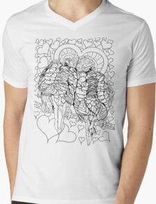 Love Budgies Mens V-Neck T-Shirt
