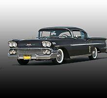 1958 Chevrolet Impala 'Studio' by DaveKoontz