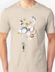 Miyazaki's Balloons Unisex T-Shirt