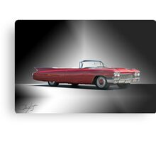 1960 Cadillac DeVille Convertible 'Studio' Metal Print
