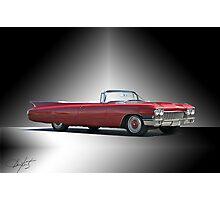 1960 Cadillac DeVille Convertible 'Studio' Photographic Print