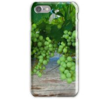 On the grape vine iPhone Case/Skin