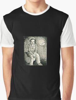 Moon Mirror Graphic T-Shirt