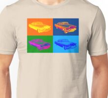 1956 Sedan Deville Cadillac Luxury Car Pop Art Unisex T-Shirt