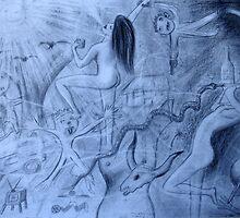 Sexi Woman Celebrating by danielgomez
