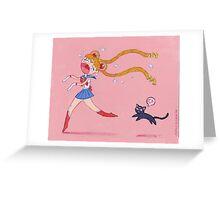 Sailor Moon Greeting Card