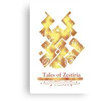 Celestial Book [Tales od Zestiria] Canvas Print
