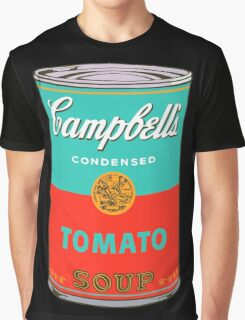 Campbell's Soup Can - Andy Warhol Print Graphic T-Shirt