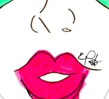 Heart Glasses Face- Summer Pop Sticker