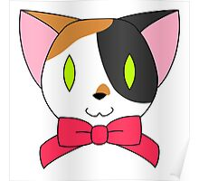 Fancy Kitty - Calico Poster