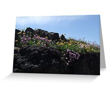 By the shore Greeting Card