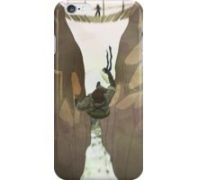 Naked Snake Falls iPhone Case/Skin