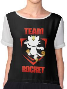 Pokemon Go - Team Rocket! Chiffon Top