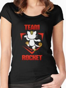 Pokemon Go - Team Rocket! Women's Fitted Scoop T-Shirt