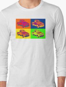 1951 ford F-1 Pickup Truck Pop Art Long Sleeve T-Shirt