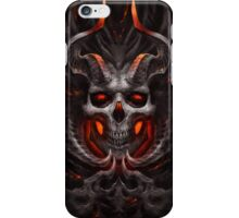 Angry Skeleton With Red Eyes Back Case Cover  iPhone Case/Skin