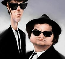 Blues Brothers by AppledornART