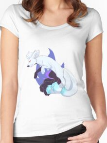 Shiny Ver. Ninetails - Pokemon Women's Fitted Scoop T-Shirt