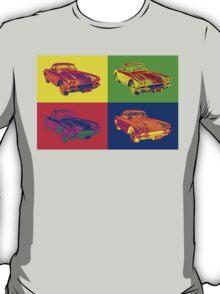 1962 Chevrolet Corvette Pop Art T-Shirt