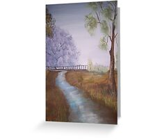 Early Morning  Light Greeting Card