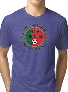 Portugal Euro 2016 Champions T-Shirts etc. ID-7 Tri-blend T-Shirt
