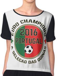 Portugal Euro 2016 Champions T-Shirts etc. ID-7 Chiffon Top
