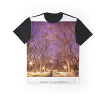 The Mall in Central Park Graphic T-Shirt